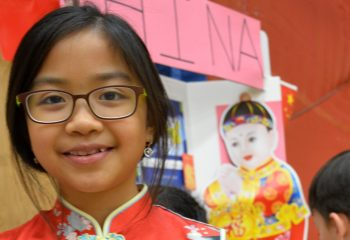 Multicultural Day China Exhibit